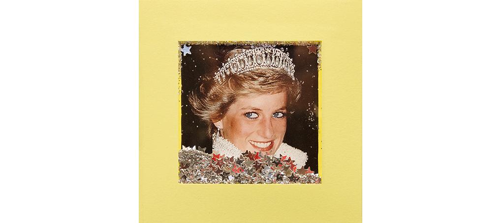 mira como brillo 11 postit glitter lady di crown princess Jose camara