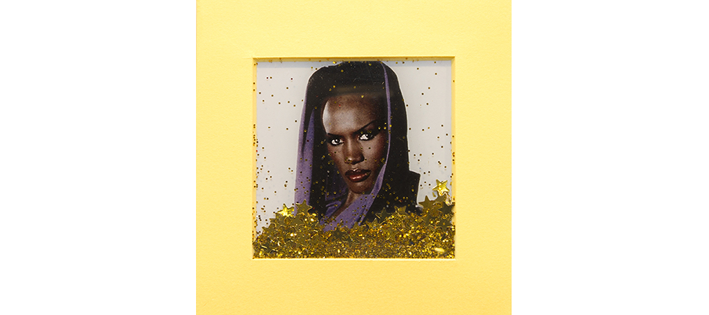 mira como brillo 12 postit glitter grace jones slave to the rhythm Jose camara