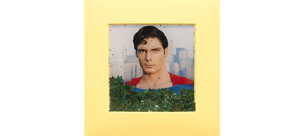 mira como brillo 16 postit glitter superman kryptonite Jose camara