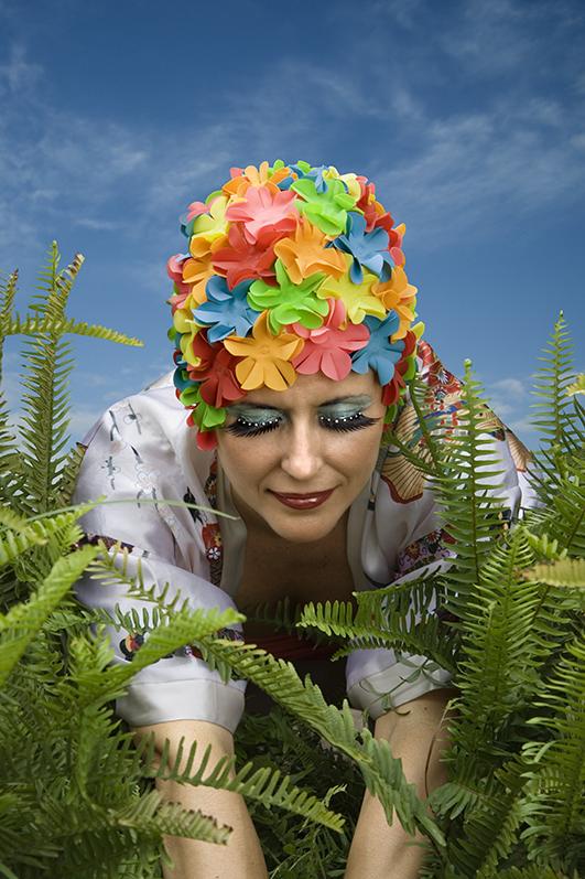 misc 02 gorro flores baño colores camuflaje jose camara
