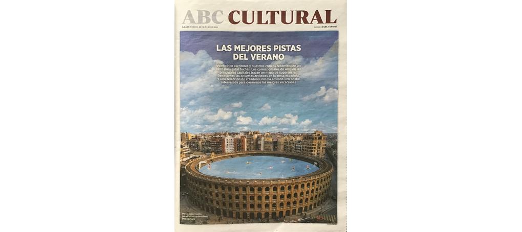 abc cultural a veces llegan cartas plaza de toros piscina jose camara postal pintura