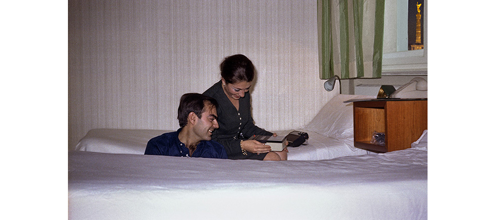 viajes prestados 04 Berlin canarias años 70 habitación hotel fotmontaje jose camara