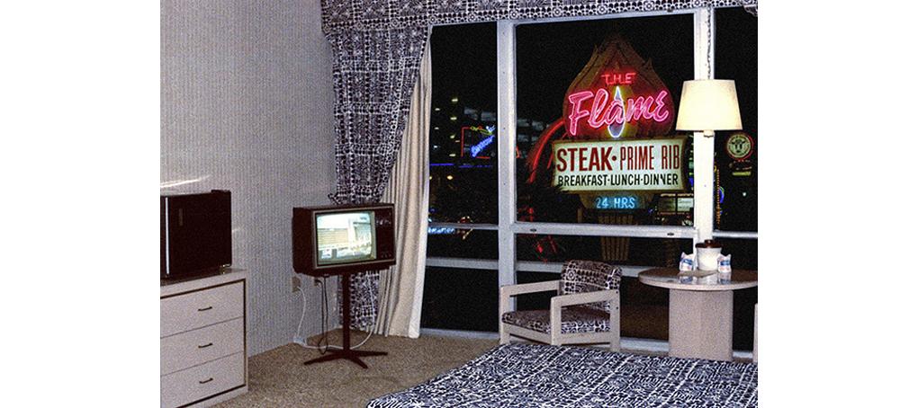 viajes prestados 07 Miami las vegas habitación hotel minibar fotomontaje jose camara